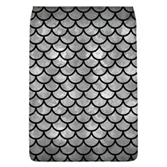 Scales1 Black Marble & Gray Metal 2 (r) Flap Covers (l)
