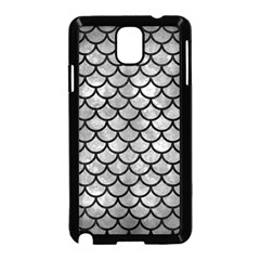Scales1 Black Marble & Gray Metal 2 (r) Samsung Galaxy Note 3 Neo Hardshell Case (black)