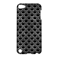 Scales2 Black Marble & Gray Metal 2 Apple Ipod Touch 5 Hardshell Case