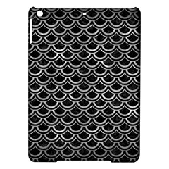 Scales2 Black Marble & Gray Metal 2 Ipad Air Hardshell Cases