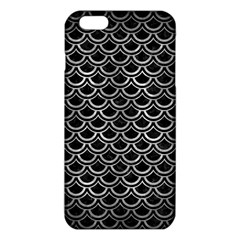 Scales2 Black Marble & Gray Metal 2 Iphone 6 Plus/6s Plus Tpu Case
