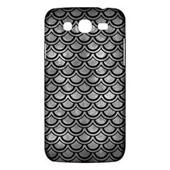 Scales2 Black Marble & Gray Metal 2 (r) Samsung Galaxy Mega 5 8 I9152 Hardshell Case