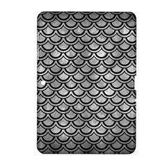 Scales2 Black Marble & Gray Metal 2 (r) Samsung Galaxy Tab 2 (10 1 ) P5100 Hardshell Case