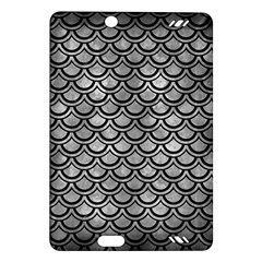 Scales2 Black Marble & Gray Metal 2 (r) Amazon Kindle Fire Hd (2013) Hardshell Case