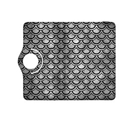 Scales2 Black Marble & Gray Metal 2 (r) Kindle Fire Hdx 8 9  Flip 360 Case