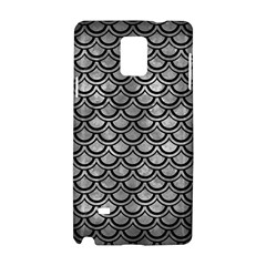 Scales2 Black Marble & Gray Metal 2 (r) Samsung Galaxy Note 4 Hardshell Case