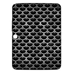 Scales3 Black Marble & Gray Metal 2 Samsung Galaxy Tab 3 (10 1 ) P5200 Hardshell Case