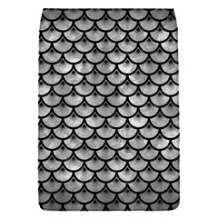 Scales3 Black Marble & Gray Metal 2 (r) Flap Covers (s)