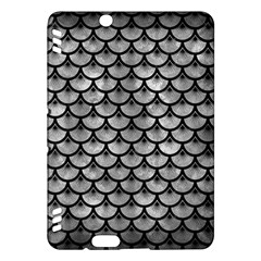 Scales3 Black Marble & Gray Metal 2 (r) Kindle Fire Hdx Hardshell Case