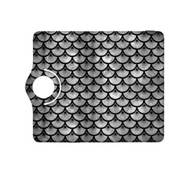 Scales3 Black Marble & Gray Metal 2 (r) Kindle Fire Hdx 8 9  Flip 360 Case