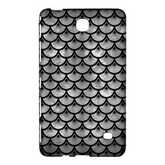 Scales3 Black Marble & Gray Metal 2 (r) Samsung Galaxy Tab 4 (7 ) Hardshell Case