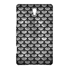 Scales3 Black Marble & Gray Metal 2 (r) Samsung Galaxy Tab S (8 4 ) Hardshell Case