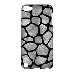 Skin1 Black Marble & Gray Metal 2 Apple Ipod Touch 5 Hardshell Case