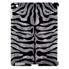 Skin2 Black Marble & Gray Metal 2 (r) Apple Ipad 3/4 Hardshell Case (compatible With Smart Cover)