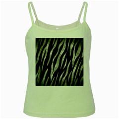 Skin3 Black Marble & Gray Metal 2 Green Spaghetti Tank