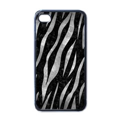 Skin3 Black Marble & Gray Metal 2 Apple Iphone 4 Case (black)
