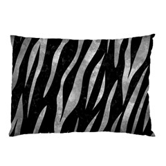 Skin3 Black Marble & Gray Metal 2 Pillow Case (two Sides)