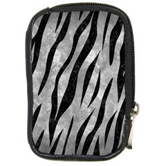 Skin3 Black Marble & Gray Metal 2 (r) Compact Camera Cases