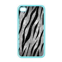Skin3 Black Marble & Gray Metal 2 (r) Apple Iphone 4 Case (color)
