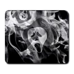 Creepy Halloween Large Mousepads