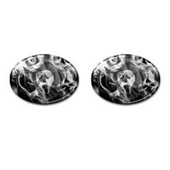 Creepy Halloween Cufflinks (oval)