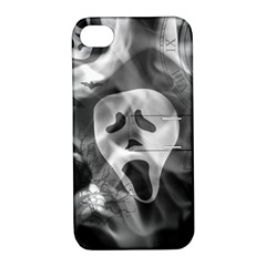 Creepy Halloween Apple Iphone 4/4s Hardshell Case With Stand
