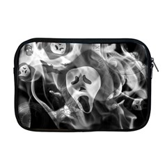 Creepy Halloween Apple Macbook Pro 17  Zipper Case