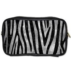 Skin4 Black Marble & Gray Metal 2 Toiletries Bags