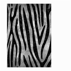 Skin4 Black Marble & Gray Metal 2 Small Garden Flag (two Sides)