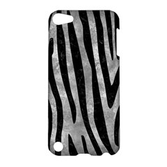 Skin4 Black Marble & Gray Metal 2 Apple Ipod Touch 5 Hardshell Case