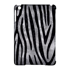 Skin4 Black Marble & Gray Metal 2 Apple Ipad Mini Hardshell Case (compatible With Smart Cover)