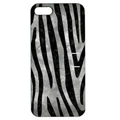 Skin4 Black Marble & Gray Metal 2 Apple Iphone 5 Hardshell Case With Stand