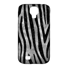 Skin4 Black Marble & Gray Metal 2 Samsung Galaxy S4 Classic Hardshell Case (pc+silicone)