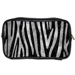 Skin4 Black Marble & Gray Metal 2 (r) Toiletries Bags 2 Side