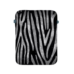 Skin4 Black Marble & Gray Metal 2 (r) Apple Ipad 2/3/4 Protective Soft Cases