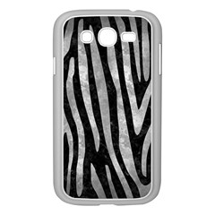Skin4 Black Marble & Gray Metal 2 (r) Samsung Galaxy Grand Duos I9082 Case (white)