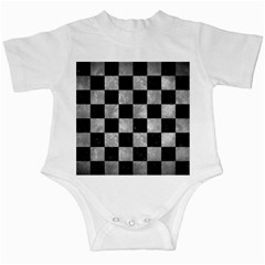 Square1 Black Marble & Gray Metal 2 Infant Creepers
