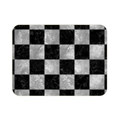 Square1 Black Marble & Gray Metal 2 Double Sided Flano Blanket (mini)