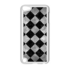 Square2 Black Marble & Gray Metal 2 Apple Ipod Touch 5 Case (white)