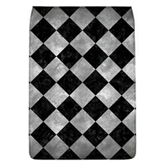Square2 Black Marble & Gray Metal 2 Flap Covers (l)