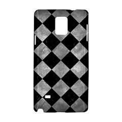 Square2 Black Marble & Gray Metal 2 Samsung Galaxy Note 4 Hardshell Case