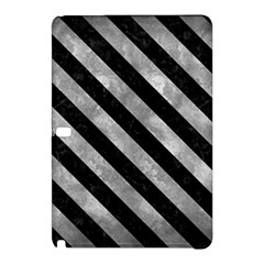Stripes3 Black Marble & Gray Metal 2 (r) Samsung Galaxy Tab Pro 12 2 Hardshell Case
