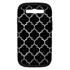 Tile1 Black Marble & Gray Metal 2 Samsung Galaxy S Iii Hardshell Case (pc+silicone)