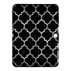 Tile1 Black Marble & Gray Metal 2 Samsung Galaxy Tab 4 (10 1 ) Hardshell Case