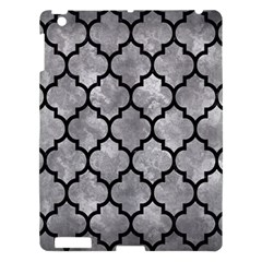 Tile1 Black Marble & Gray Metal 2 (r) Apple Ipad 3/4 Hardshell Case