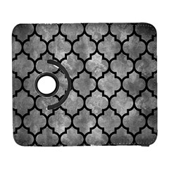 Tile1 Black Marble & Gray Metal 2 (r) Galaxy S3 (flip/folio)