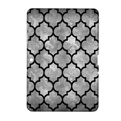 Tile1 Black Marble & Gray Metal 2 (r) Samsung Galaxy Tab 2 (10 1 ) P5100 Hardshell Case