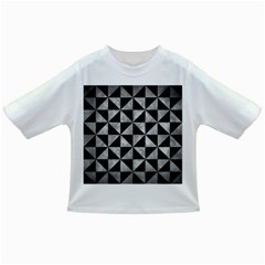 Triangle1 Black Marble & Gray Metal 2 Infant/toddler T Shirts