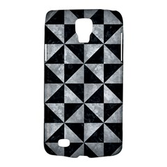 Triangle1 Black Marble & Gray Metal 2 Galaxy S4 Active