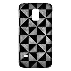 Triangle1 Black Marble & Gray Metal 2 Galaxy S5 Mini